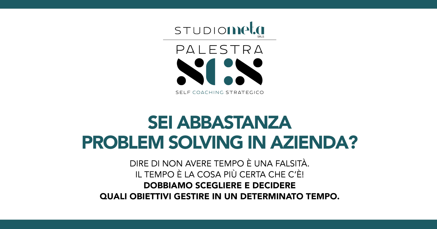 Palestra SCS – Essere Problem Solving