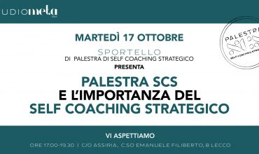 [SPORTELLO] di Palestra di Self Coaching strategico